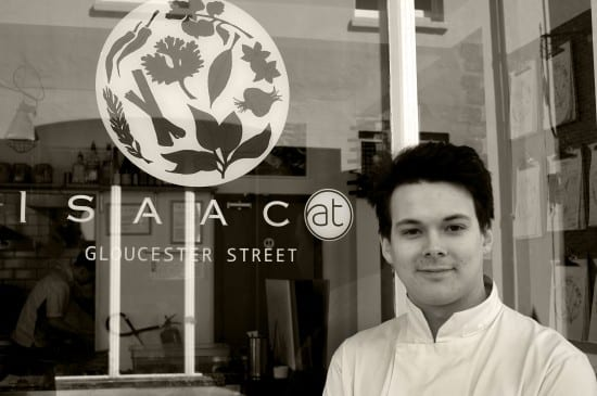 George, Sous chef - Isaac At