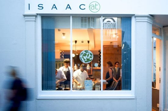 Exterior of the restaurant - Isaac At Brighton